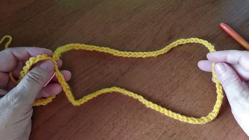 Небольшой но полезный прием вязания набор петель на вспомогательную нить