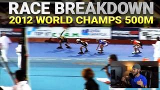 Joey Mantia - Race Breakdown 2012 World Championship 500m Parabolic Track Ascoli Piceno Italy
