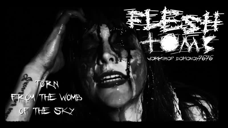 FLESH TOMB TORN FROM THE WOMB OF THE SKY FT FRANK RINI Official Video 2019