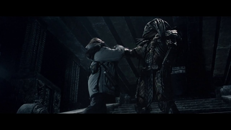 AVP Alien vs. Predator - Weyland Death Scene (HD)