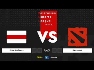 Business vs Free Belarus. Belarusian Esports League Season 3. Группа А