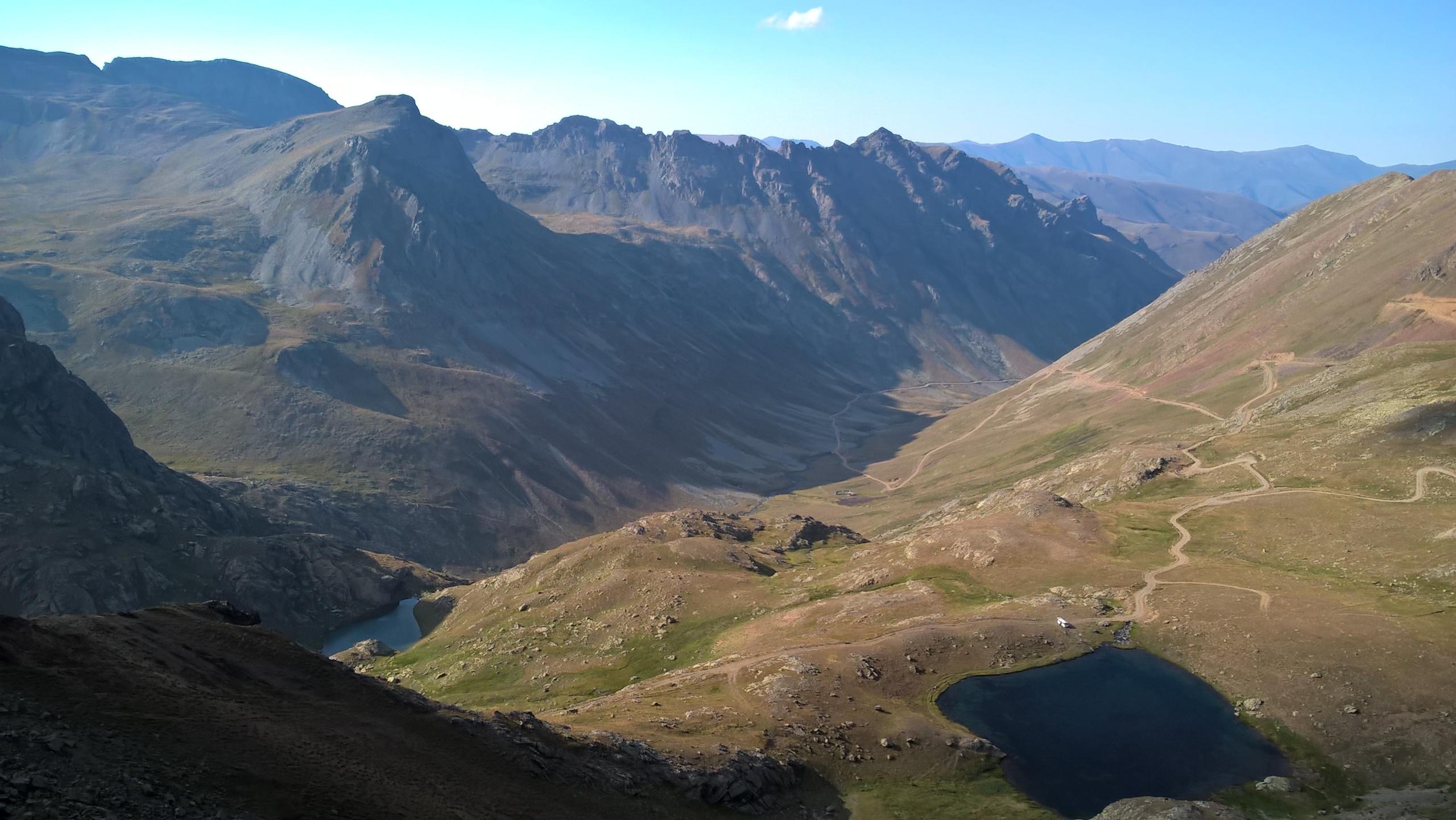 в горах Анзер в провинции Ризе