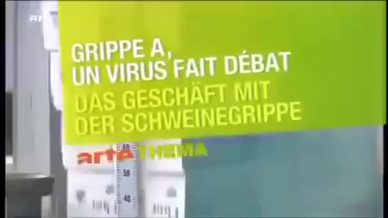 BfeD Profiteure der Angst arte Dokumentation 2009 Und heute Coronavirus