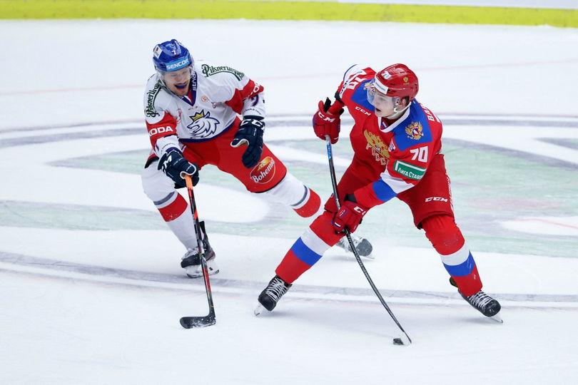Россия одержала волевую победу над Чехией и выиграла Шведские игры (Видео)