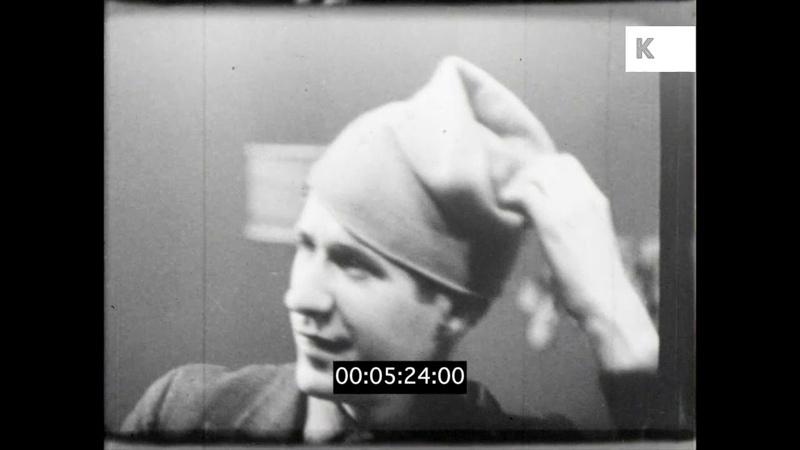 1930s Milliner, Hat Designer, UK Fashion from 16mm