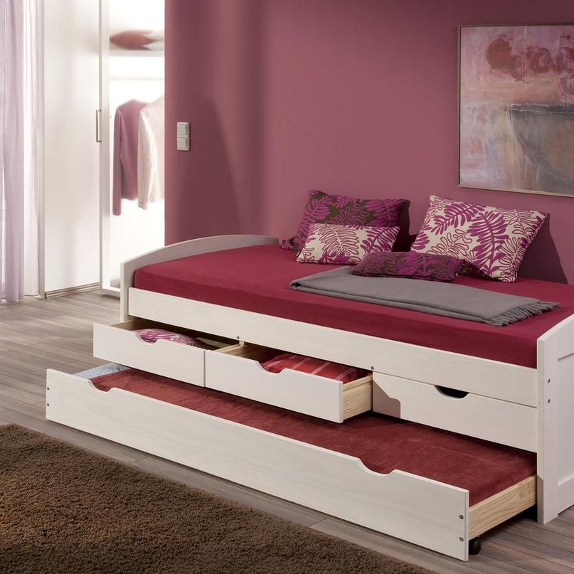 Плюсы и минусы двухъярусных выдвижных кроватей, популярные дизайны, изображение №23