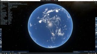 Green Venus Planet. Terraforing Venus SpaceEngine
