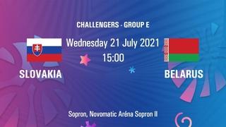 Slovakia vs. Belarus   FIBA U20 European Challenger   Sopron, Hungary