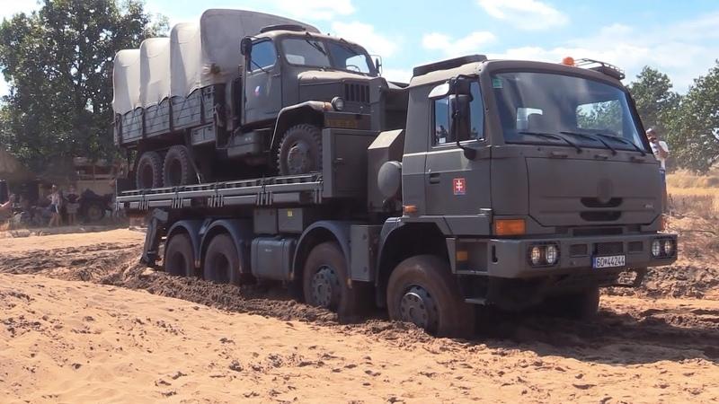 Полноприводные военные грузовики США и НАТО на бездорожье Круче наших
