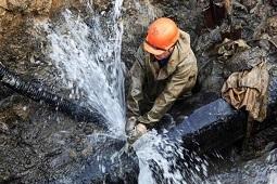 Сделайте запас воды. Порыв водопровода