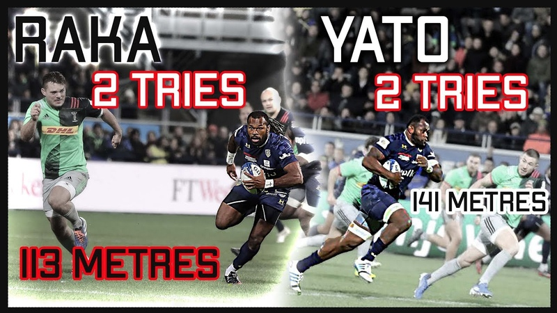 Yato Raka are ULTRA ELECTRIC Clermont v Harlequins