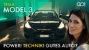 Tesla Model 3 - Revolution oder Reinfall?   Cyndie Allemann testet