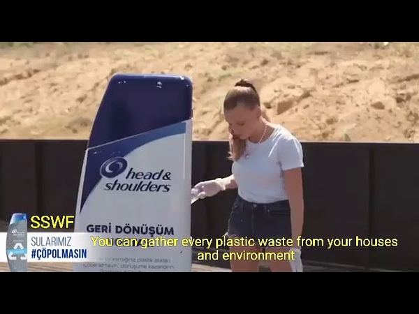 SerenaySarıkaya H S Plastic waste recycling campaign ♻️