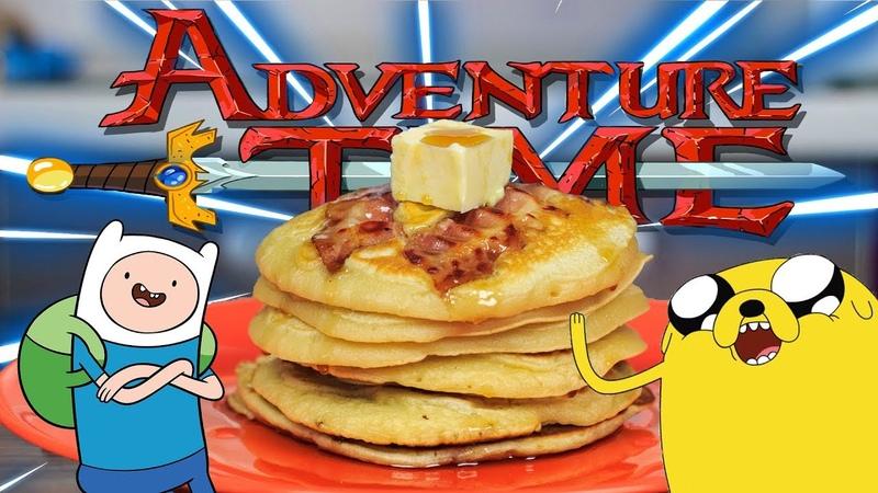 Блины с Беконом из Время Приключений Bacon Pancakes from Adventure Time