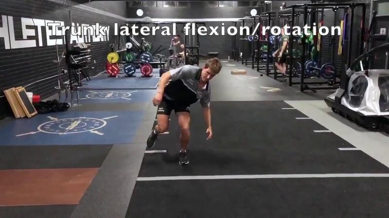 Hop - trunk control - lateral flexion vs upright