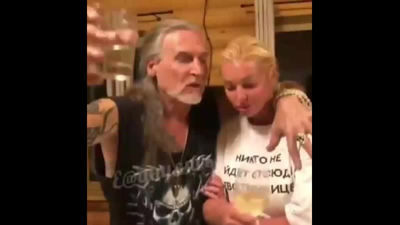 Как пьёт балерина Волочкова mp4