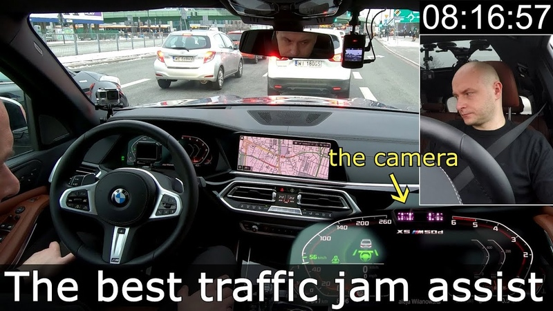 BMW 3 8 X5 Driving Assistant Professional The best traffic jam assist in a city 1001cars