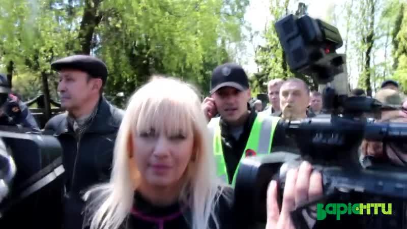 Львівські праваки правосеки плюють в Інну Іваночко