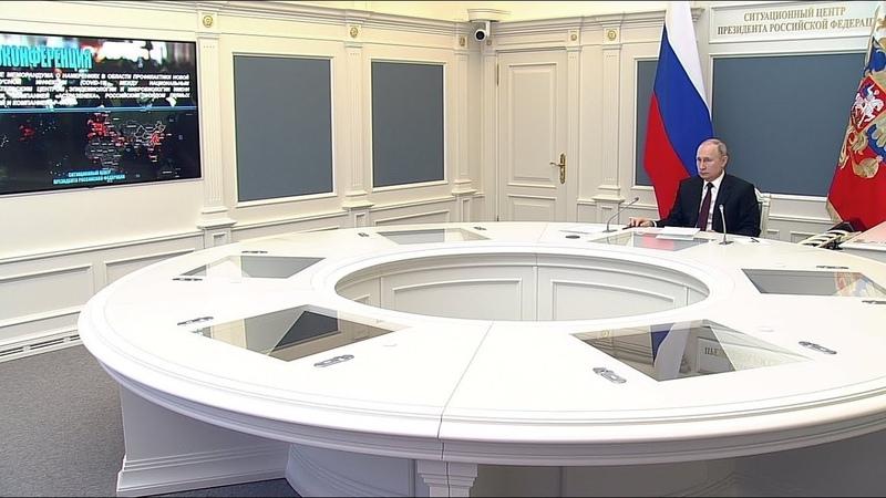 Путин надеется на успешное сотрудничество России с AstraZeneca по вакцине от коронавируса