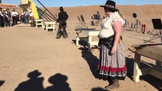 Winter Range 2016 - Top 16 Shootout Cowboy Action Shooting Bonnie Macfarlane vs Crazy Little Woman