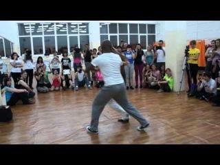 Мировые звезды танца Ламбазук провели в Чебоксарах мастер-класс