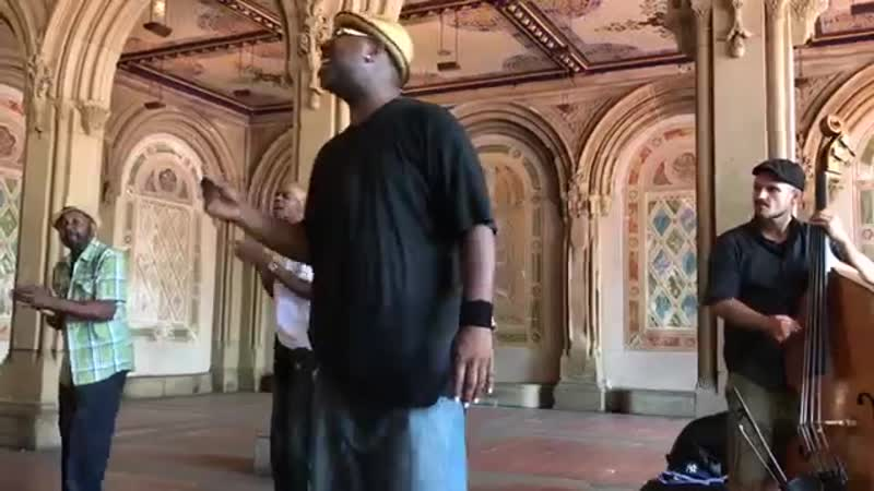"""Must-see! """"Stand by Me"""" Cover Story (Acapella Soul) Wonderful!New York Central P"""