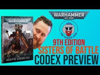 *NEW* Adepta Sororitas 9th Edition Codex Preview!