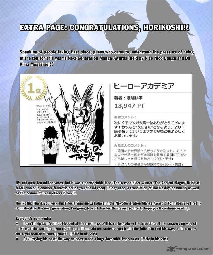 Boku No Hero Academia, Chapter 29, image #23