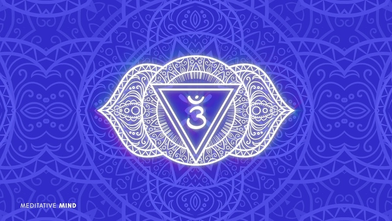 THIRD EYE CHAKRA HEALING Hang Drum Music Overcome Indecisiveness Find Purpose