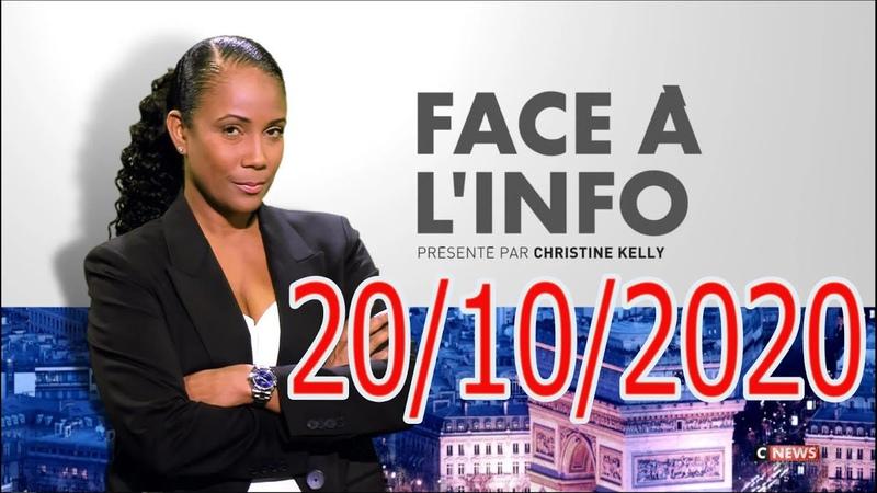 Face à l'info du 20 10 2020 Christine Kelly VS Éric Zemmour