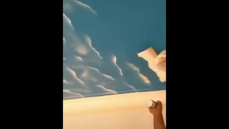 Идея для декора потолка