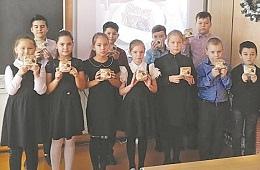 """Всероссийский урок памяти в рамках акции """"Блокадный хлеб"""" прошёл в Косырёвке"""