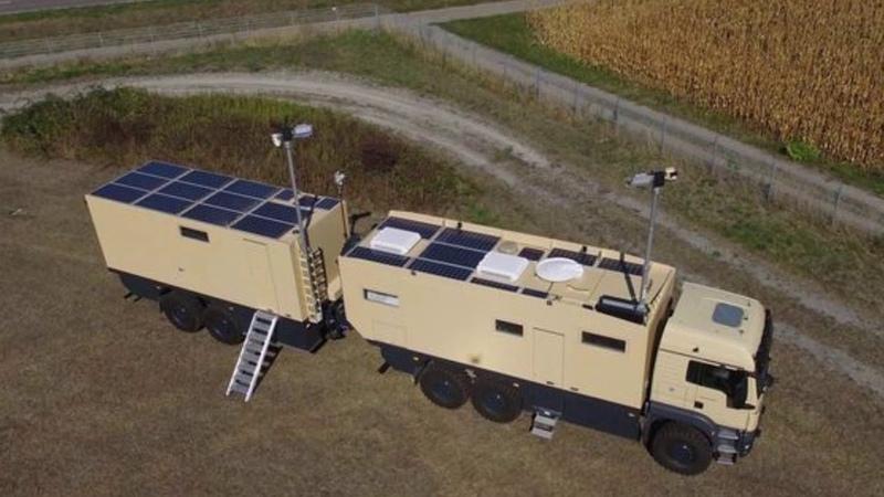 Unicat MD75h MAN TGS 6x6 base