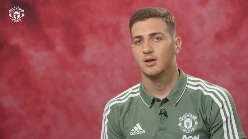 Diogo Dalot's First Interview