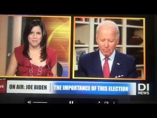 Байден заснул в прямом эфире американского телевидения