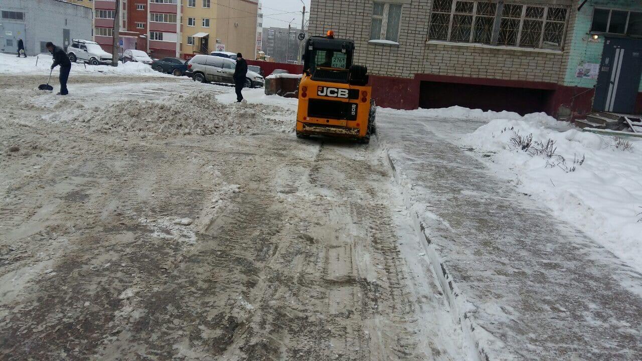 Улица Московская дом 109 механизированная уборка