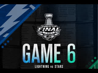 Stanley Cup Final 2020 Game 6 Tampa Bay Lightning-Dallas Stars