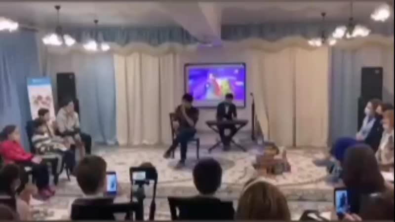 Димаш 25 11 2020 sos Детская деревня Астана