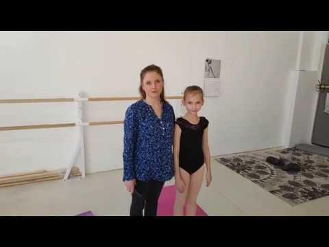 Видеоурок 1 Партерная гимнастика классического балета