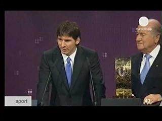 Season 2009/2010. Lionel Messi - FIFA World Player 2009