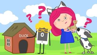 Развивающий мультик для детей - Смарта и чудо-сумка - Учим английский