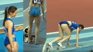 Women's 200m (First round)   Russian Indoor Championship ᴴᴰ