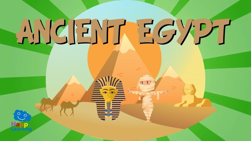 ANCIENT EGYPT The Pharaoh civilisation Educational Videos for Kids
