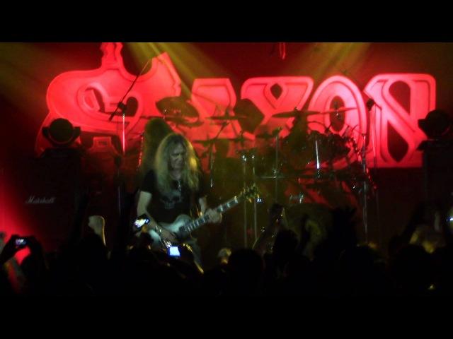 SAXON Live in ROMA ORION Ciampino 15 06 2013