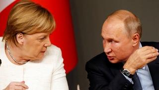 Вести.Ru: Началась встреча Путина и Меркель