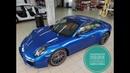 Porsche 911 Бронирование лобового стекла clearplex