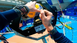 Volleyball Ball Shooting Training Machine | Volleyball First Person | ZENIT ST. PETERSBURG | 2021