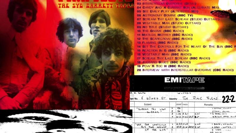 Pink Floyd The Syd Barrett Tapes 1967