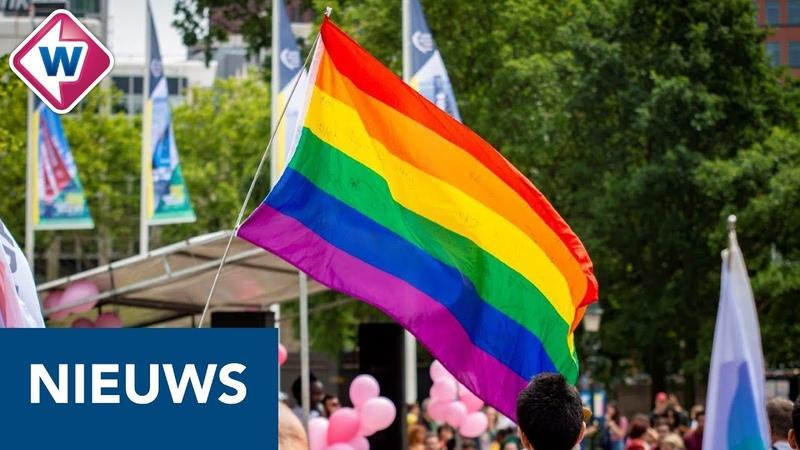 Vijfhonderd mensen lopen mee in Pride Walk en voelen zich thuis OMROEP WEST