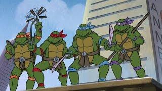 Черепашки ниндзя все серии подряд Teenage mutant ninja turtles cartoon for kids